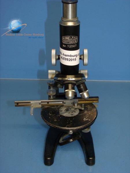 mtc hamburg winkel zeiss g ttingen 72507 mikroskop. Black Bedroom Furniture Sets. Home Design Ideas